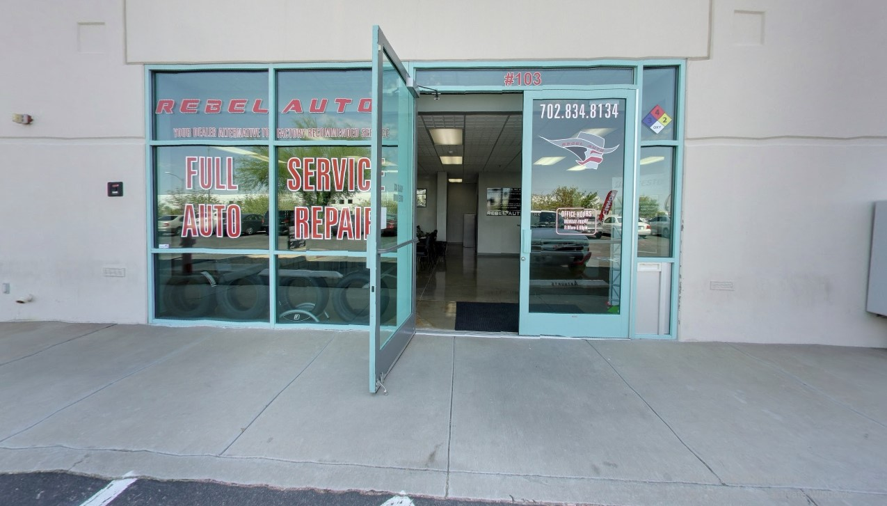 auto shop - main entrance of colton, ca